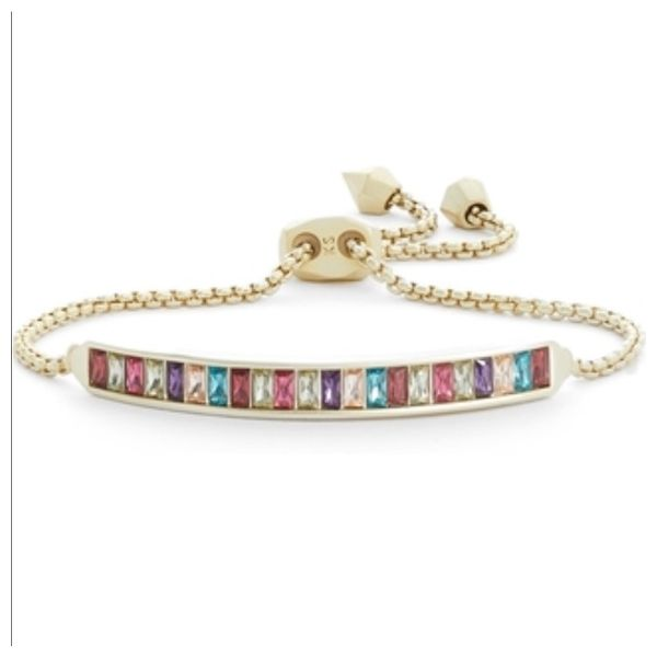 Kendra Scott Jack Gold Delicate Bracelet In Jewel Tone SVS Fine Jewelry Oceanside, NY