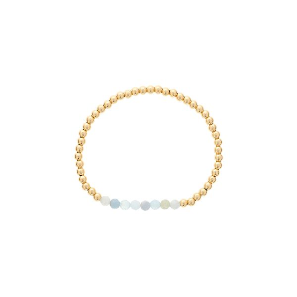 Dee Berkley Shine Bright Gold Filled Beaded Bracelet SVS Fine Jewelry Oceanside, NY