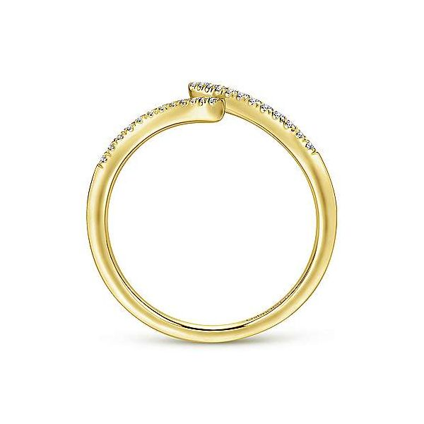 Gabriel & Co. Kaslique 14K Yellow Gold Diamond Ring Image 2 SVS Fine Jewelry Oceanside, NY