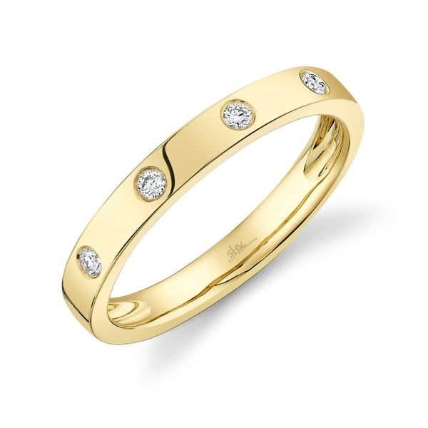 Shy Creation 14K Yellow Gold and Diamond Ring SVS Fine Jewelry Oceanside, NY
