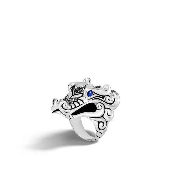 John Hardy Legends Naga Silver Ring, Size 7 SVS Fine Jewelry Oceanside, NY