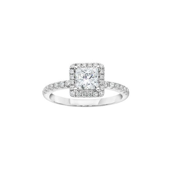 SVS Signature 14K White Gold Diamond Engagement Ring SVS Fine Jewelry Oceanside, NY