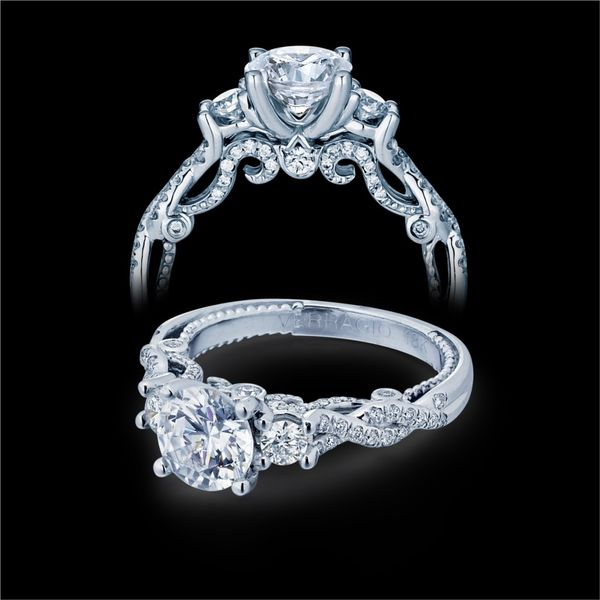 Engagement Rings Verragio: INS-7074R-Verragio-Insignia Collection-Diamond Engagement