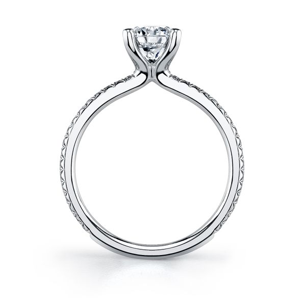 Sylvie Adorlee 14K White Gold Engagement Ring Image 2 SVS Fine Jewelry Oceanside, NY