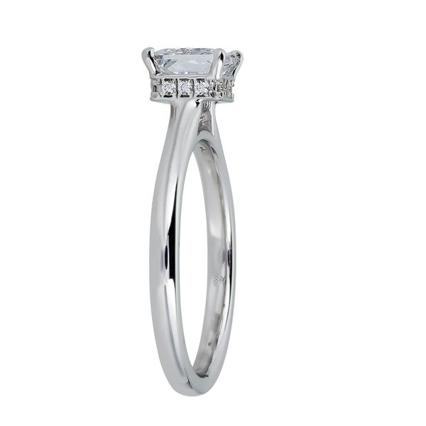 14K White Gold Diamond Engagement Ring Image 2 SVS Fine Jewelry Oceanside, NY