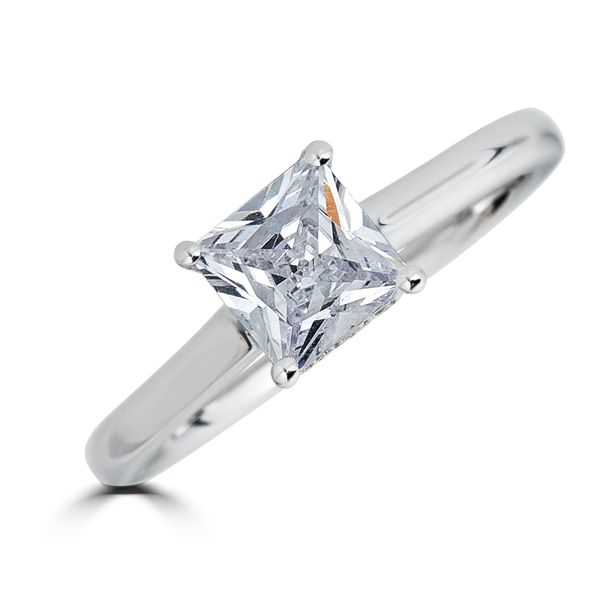 14K White Gold Diamond Engagement Ring SVS Fine Jewelry Oceanside, NY