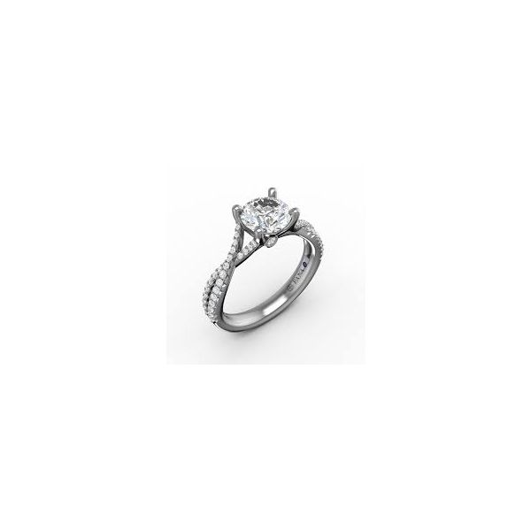Fana 14K White Gold Engagement Ring SVS Fine Jewelry Oceanside, NY
