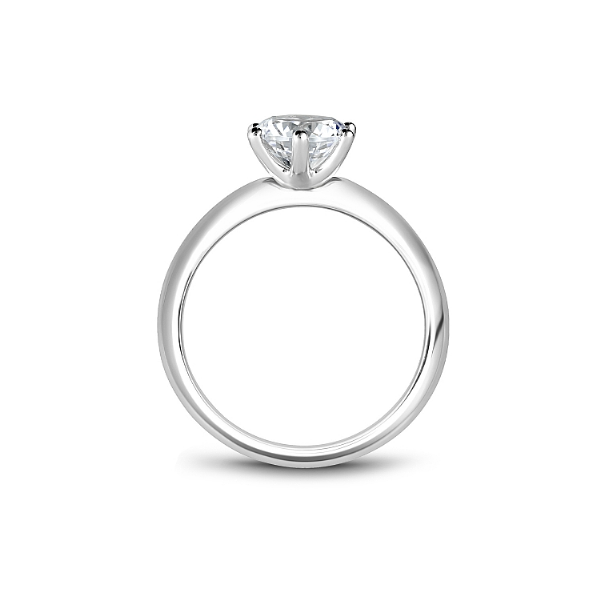 Noam Carver 14K White Gold Engagement Ring, Size 6.5 Image 2 SVS Fine Jewelry Oceanside, NY