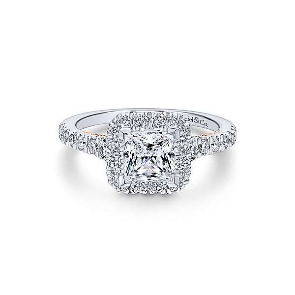 Gabriel & Co. Cadence Gold Engagement Ring SVS Fine Jewelry Oceanside, NY