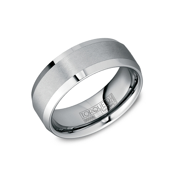 Tu 0008 Men S Wedding Band Tungsten Carbide Crown Ring Svs Fine Jewelry Svs Fine Jewelry Oceanside Ny