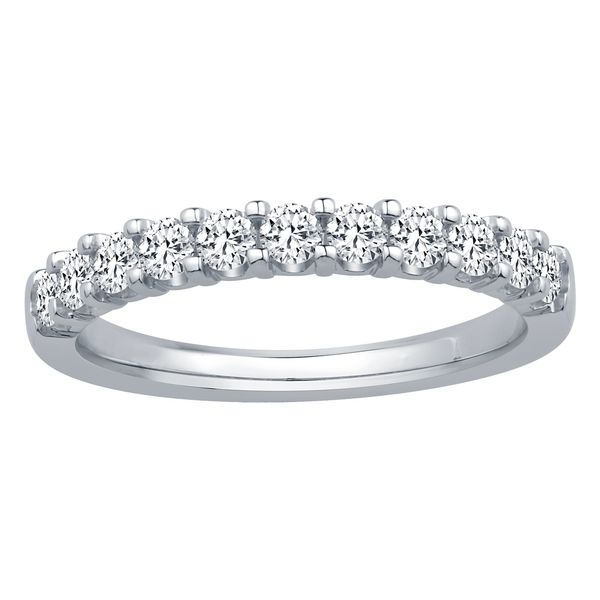 SVS Signature 101© 14K White Gold 11 Stone Band SVS Fine Jewelry Oceanside, NY