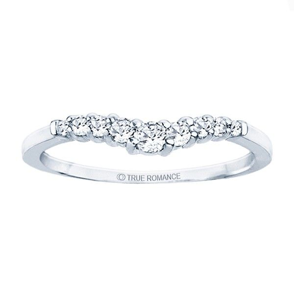 True Romance 14K White Gold Diamond Wedding Band SVS Fine Jewelry Oceanside, NY