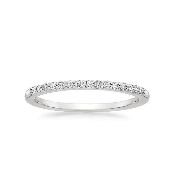 Forevermark 18K White Gold Diamond Wedding Band SVS Fine Jewelry Oceanside, NY
