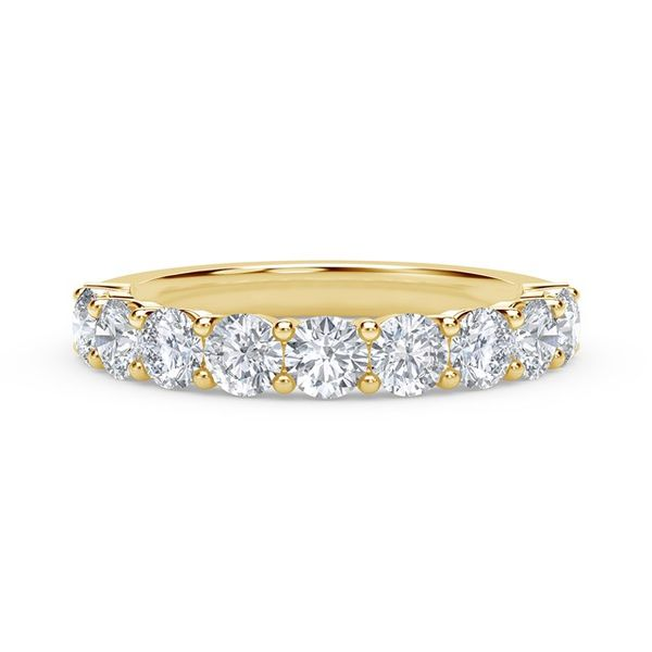 Forevermark 18K Yellow Gold Diamond Wedding Band SVS Fine Jewelry Oceanside, NY
