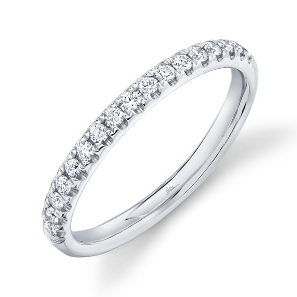 Shy Creation White Gold Diamond Eternity Band, .58ctw SVS Fine Jewelry Oceanside, NY