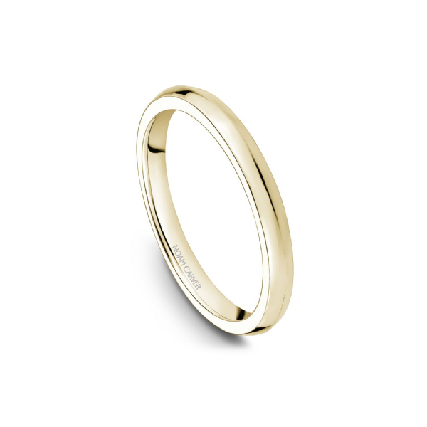 Noam Carver 14K Yellow Gold Wedding Band, Size 6.5 SVS Fine Jewelry Oceanside, NY