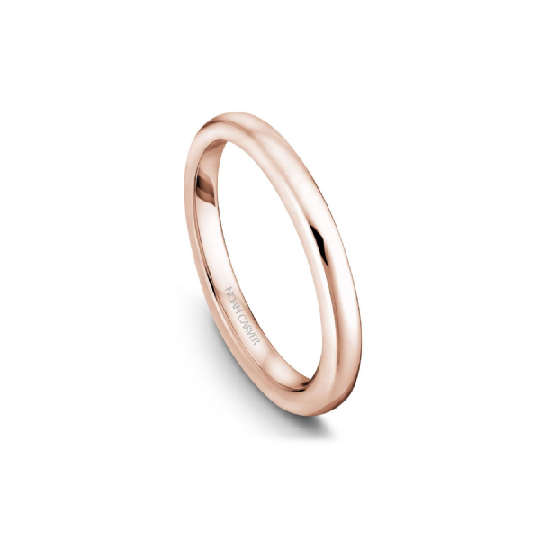 Noam Carver 14K Rose Gold Wedding Band, Size 6.5 SVS Fine Jewelry Oceanside, NY