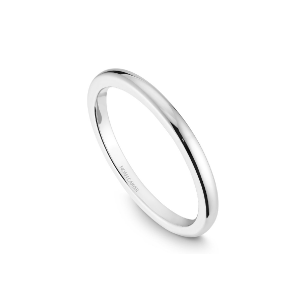 Noam Carver 14K White Gold Wedding Band, Size 6.5 SVS Fine Jewelry Oceanside, NY