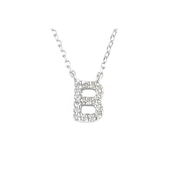 Sterling Silver Initial