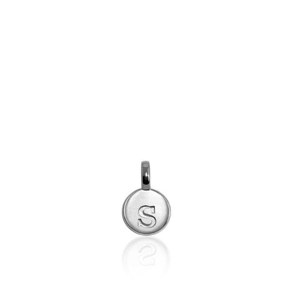 Alex Woo Mini Addition Sterling Silver Letter S SVS Fine Jewelry Oceanside, NY