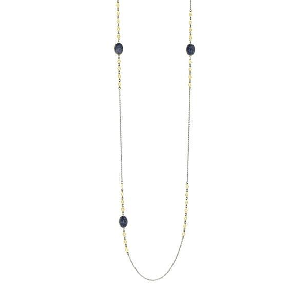 Freida Rothman Midnight Station Necklace, 36