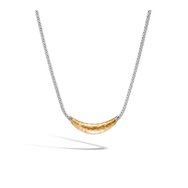 John Hardy Chain Collection Yellow Gold & Silver Necklace SVS Fine Jewelry Oceanside, NY
