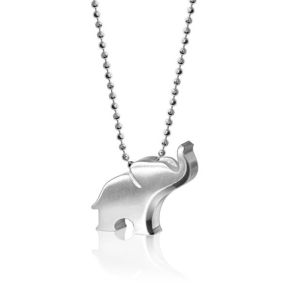 Alex Woo Little Luck Sterling Silver Elephant Necklace SVS Fine Jewelry Oceanside, NY