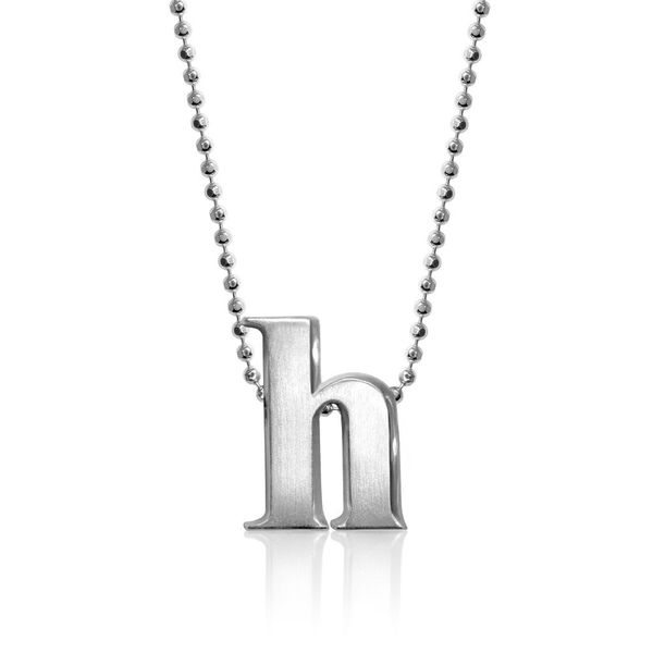 Alex Woo Little Letter Sterling Silver H Necklace SVS Fine Jewelry Oceanside, NY