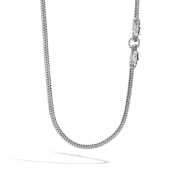 John Hardy Legends Collection Silver Naga Necklace SVS Fine Jewelry Oceanside, NY