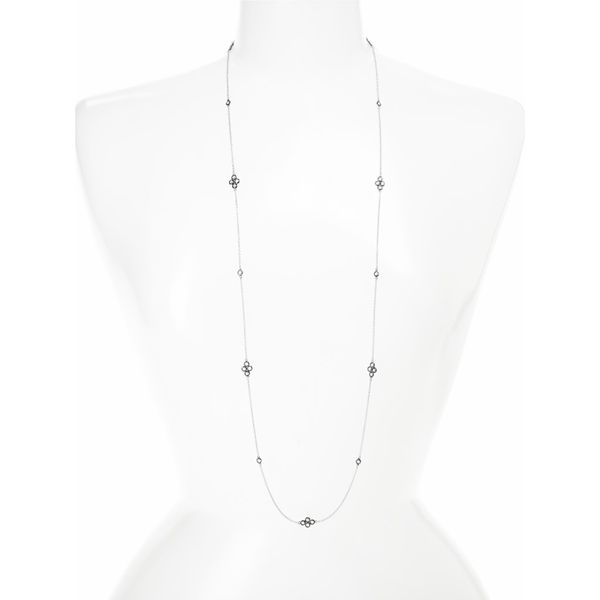 Freida Rothman Signature Four Point Station Necklace Image 2 SVS Fine Jewelry Oceanside, NY