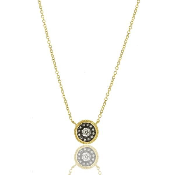 Freida Rothman Signature Nautical Button Necklace SVS Fine Jewelry Oceanside, NY
