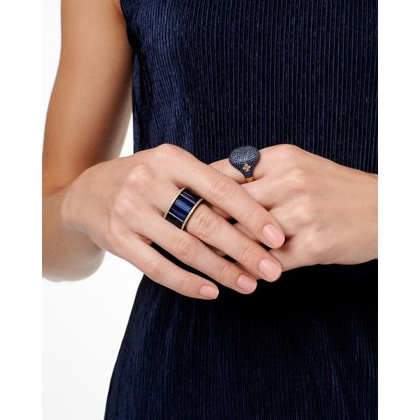 Freida Rothman Midnight Pavé Cocktail Ring, Size 7 Image 2 SVS Fine Jewelry Oceanside, NY