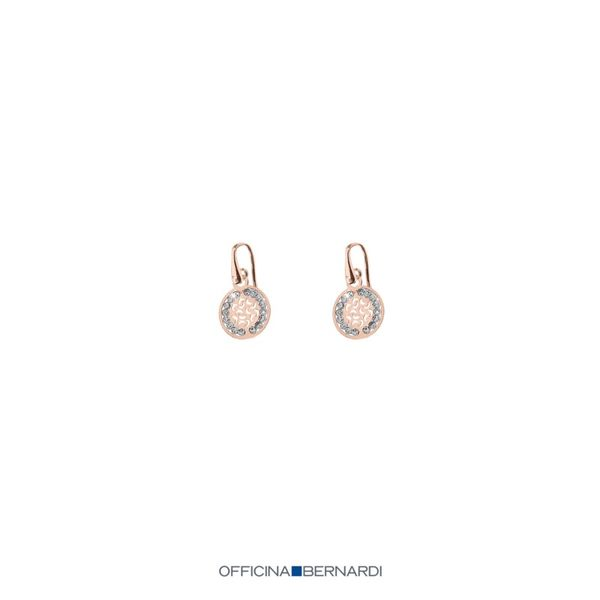 Officina Bernardi Sole Collection Silver Earrings SVS Fine Jewelry Oceanside, NY