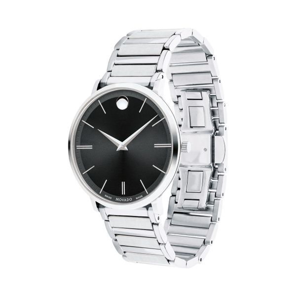 Movado Men's Ultra Slim Watch Image 2 SVS Fine Jewelry Oceanside, NY