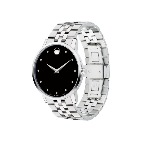 Movado Men's Museum Classic Watch Image 2 SVS Fine Jewelry Oceanside, NY