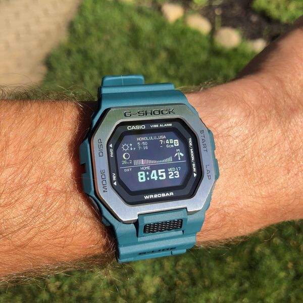 Casio G-Shock Men's G-LIDE Teal Sports Watch Image 2 SVS Fine Jewelry Oceanside, NY