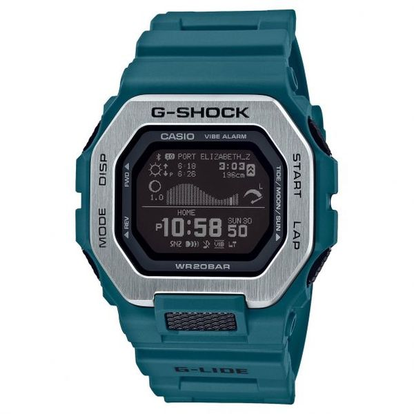 Casio G-Shock Men's G-LIDE Teal Sports Watch SVS Fine Jewelry Oceanside, NY