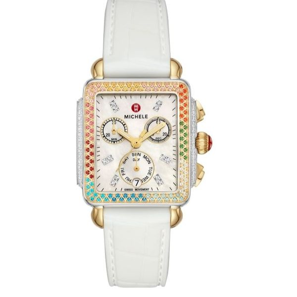 Michele Watch Deco Carousel Watch (Band Included) SVS Fine Jewelry Oceanside, NY