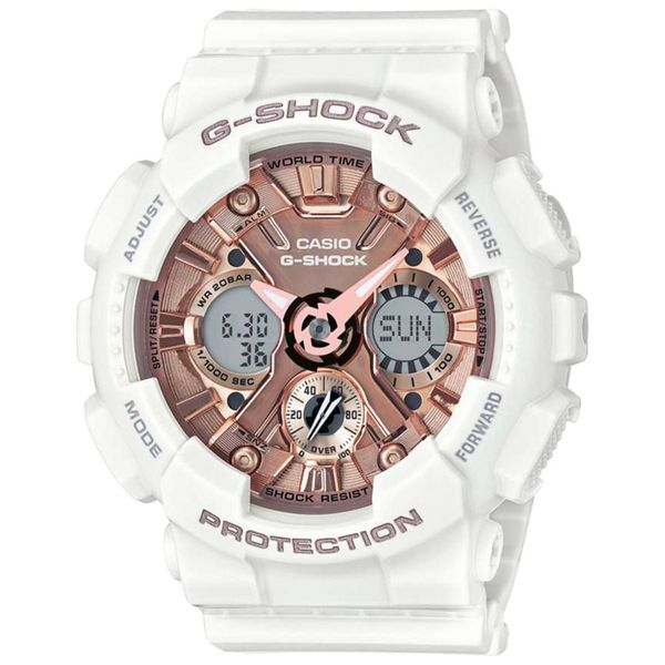 Casio G-Shock Women's White S Series Watch SVS Fine Jewelry Oceanside, NY