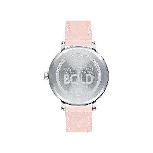 Movado Women's Bold Evolution Watch Image 3 SVS Fine Jewelry Oceanside, NY