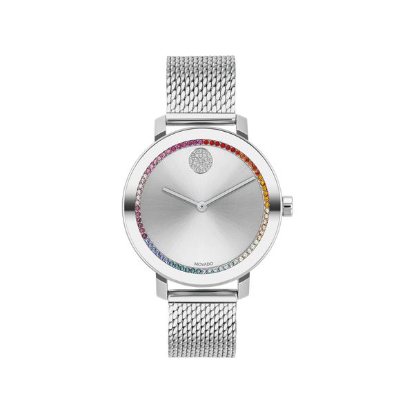 Movado Women's Bold Evolution Watch SVS Fine Jewelry Oceanside, NY