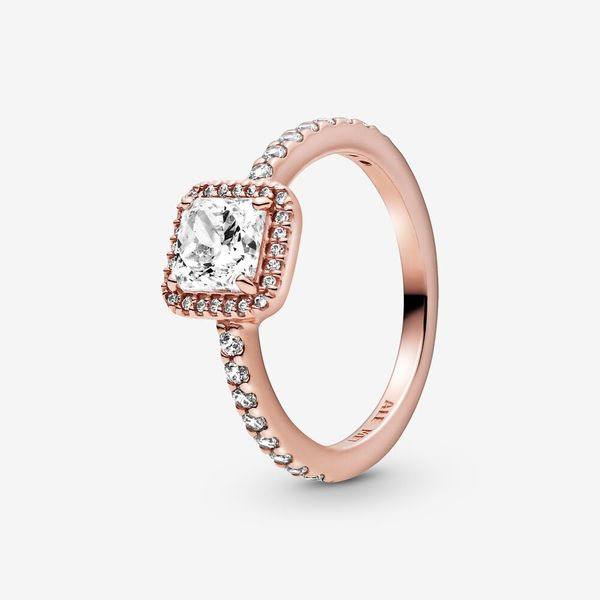 Pandora Timeless Collection Rose Gold Plated Silver Ring Image 3 SVS Fine Jewelry Oceanside, NY
