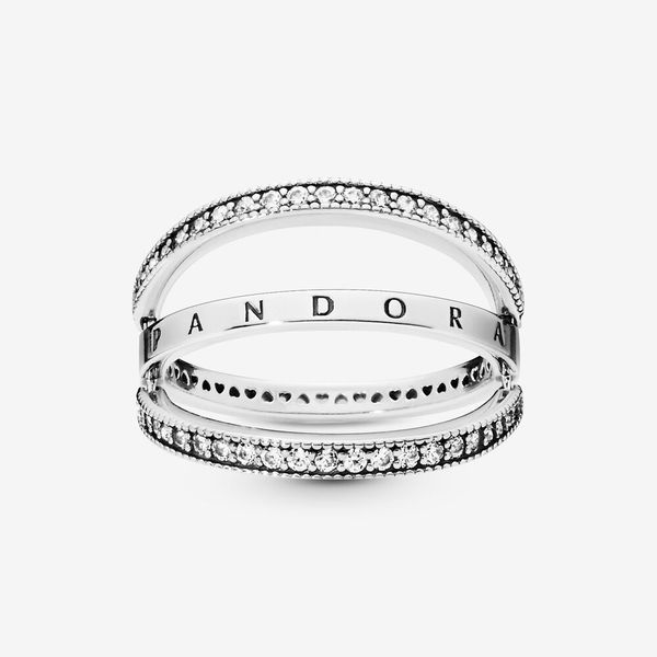 Pandora Signature Collection Sterling Silver Ring Image 3 SVS Fine Jewelry Oceanside, NY