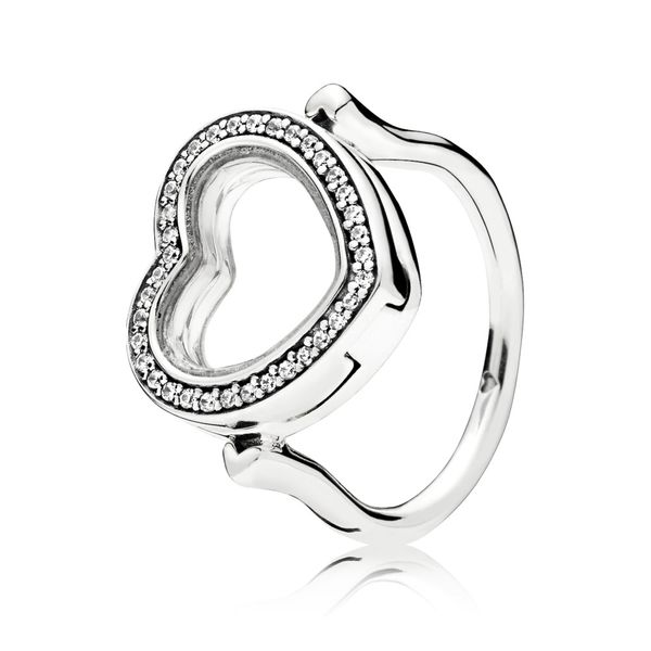 Pandora Timeless Collection Sterling Silver Lockets Ring SVS Fine Jewelry Oceanside, NY