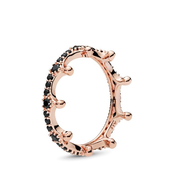 Pandora Signature Collection Rose Gold Plated Silver Ring SVS Fine Jewelry Oceanside, NY