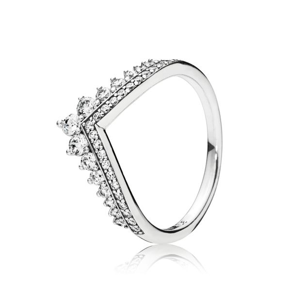 Pandora Wish Collection Sterling Silver Wishbone Ring SVS Fine Jewelry Oceanside, NY