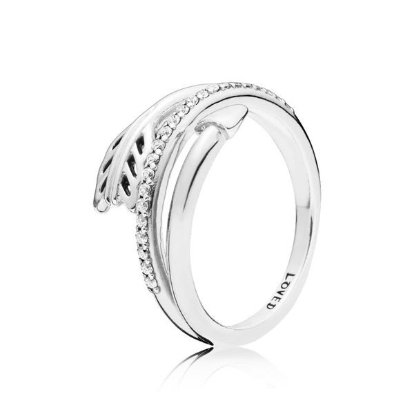 Pandora People Collection Sterling Silver Arrow Ring SVS Fine Jewelry Oceanside, NY