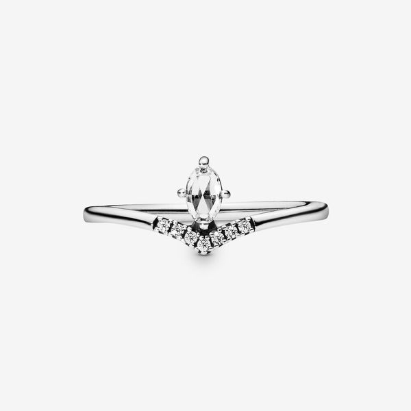 Pandora Wish Collection Sterling Silver Wishbone Ring Image 3 SVS Fine Jewelry Oceanside, NY