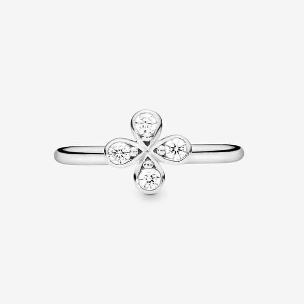 Pandora Garden Collection Sterling Silver Flower Ring Image 3 SVS Fine Jewelry Oceanside, NY