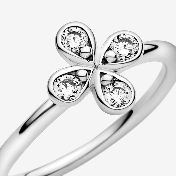 Pandora Garden Collection Sterling Silver Flower Ring Image 5 SVS Fine Jewelry Oceanside, NY